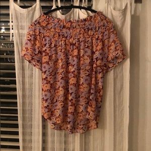 Madewell floral top
